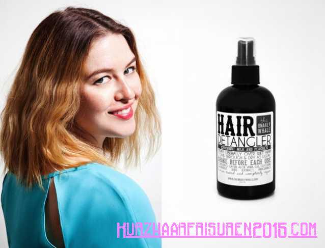 Haarpflege Tipps - Strukturierte Bob - Kokosmilch und Pfirsich Detangler