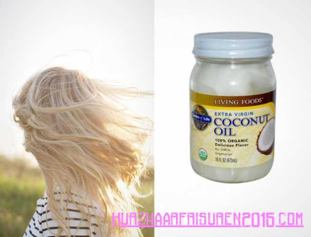 Haarpflege Tipps - üppigen langen Locken - Kokosöl
