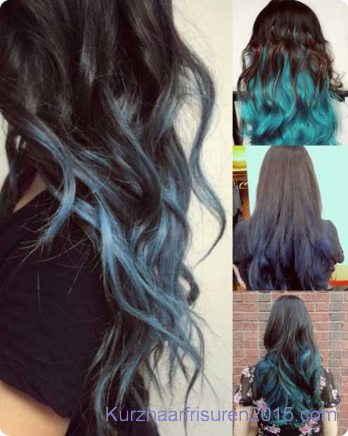 blau ombre hair 2015