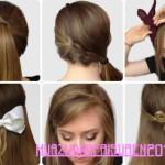 einfache Haar-Styling fur langes Haar