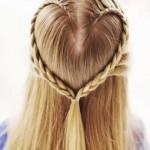 einfache madchenhaften Geflecht Haar Styling-Ideen