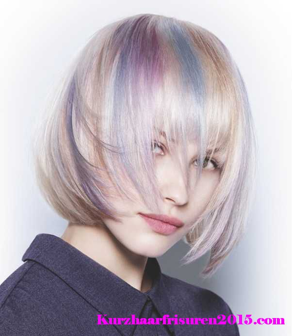 frisuren bunte farben 2015