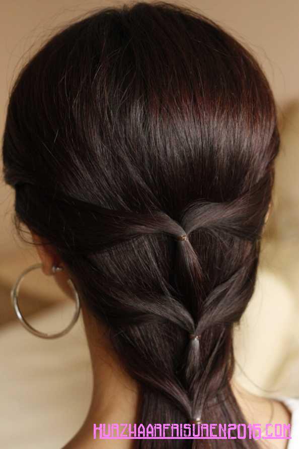 neue haar-styling einfache haar tipps