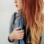 ombre haarfarben dip dye frisuren
