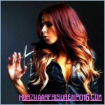 ombre haarfarben rote frisuren