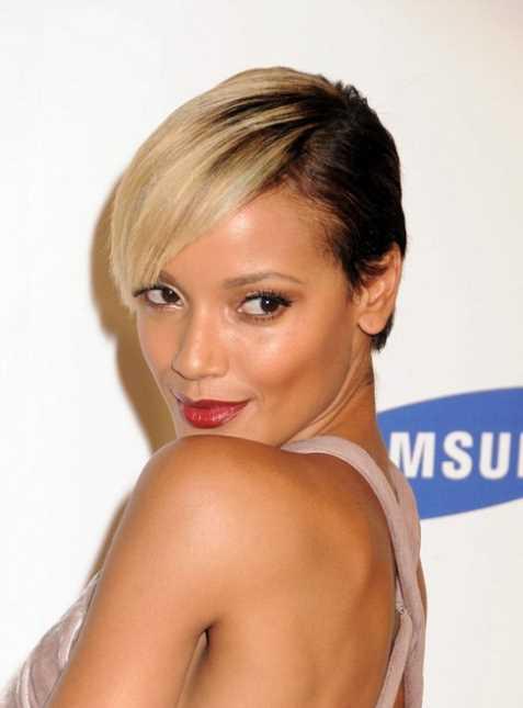 trendy tiefen Seite gescheitelt gerade Haarschnitt fur Frauen kurzhaarfrisuren