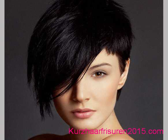 frisuren trends 2015 schwarz farben asymmetrische kurze frisuren trend kurzhaarfrisuren 2017. Black Bedroom Furniture Sets. Home Design Ideas