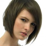 schwarz geschichtete haare bob frisuren