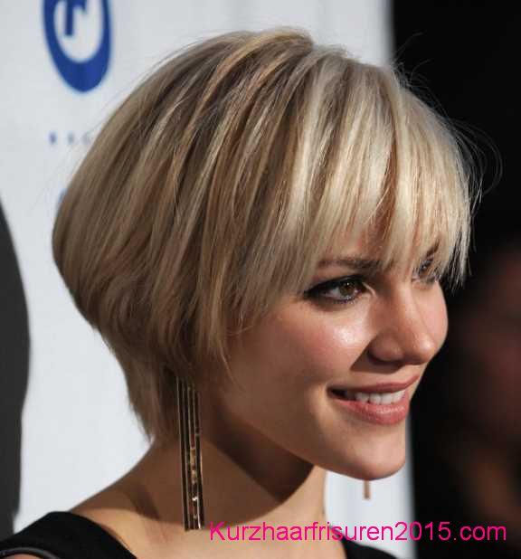 trendige bob frisuren kurze geschichtete haare