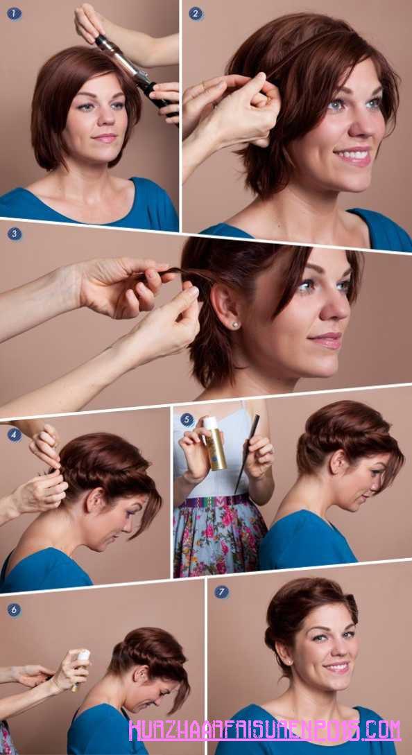 einfache haar tipps kurze zopfe
