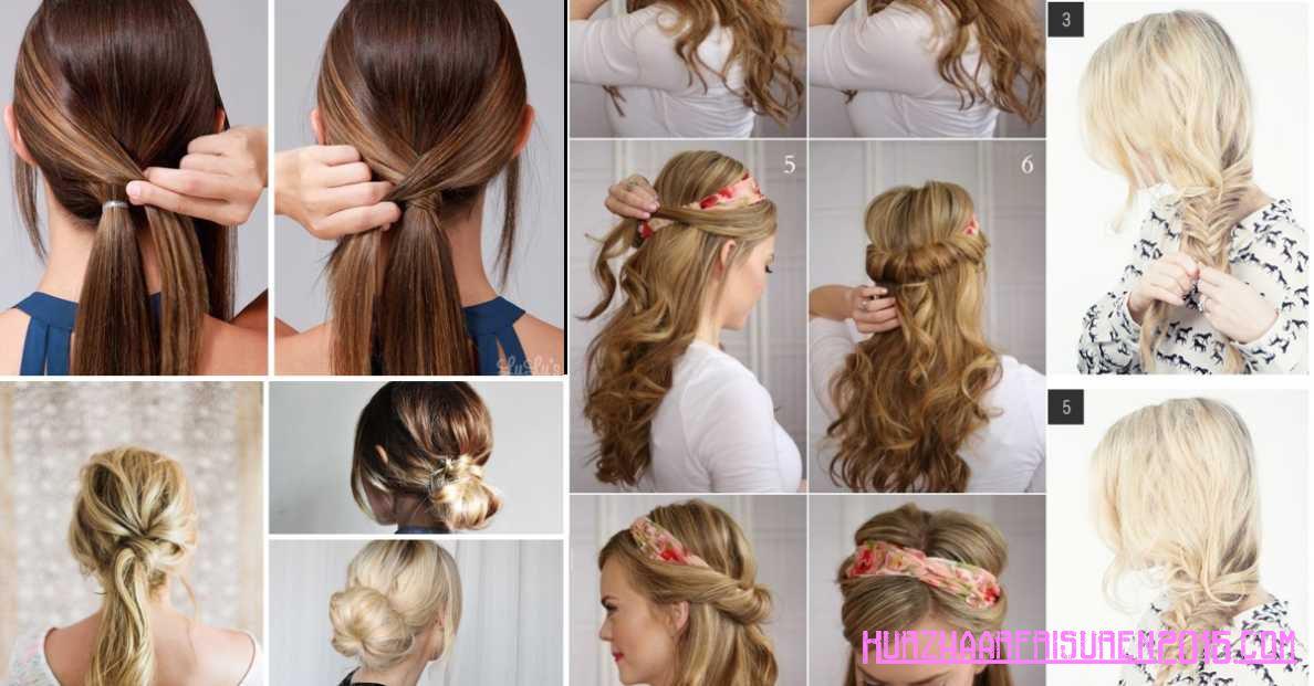 einfache haarfrisuren ideen