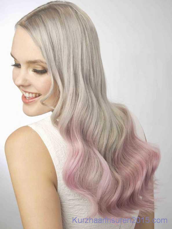 ombre hair farben 2015 platinblond rosa spitzen