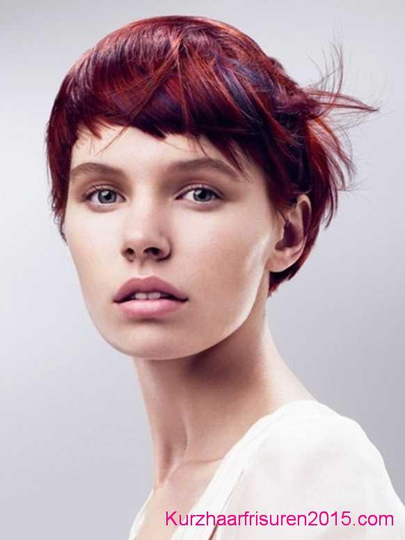 frisuren trends 2020 asymmetrische kurze haare farben