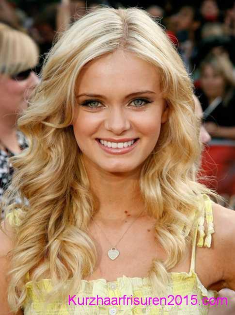 kurzhaarfrisuren locken frisuren fur blond haare
